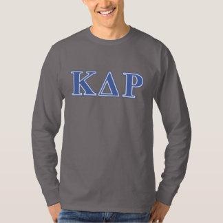ファイのΚのΘの青の手紙 Tシャツ