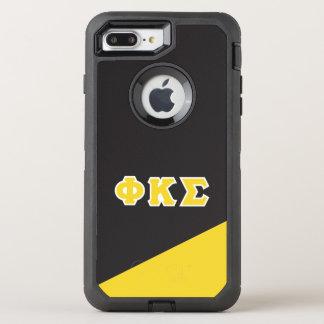 ファイのΚシグマ|ギリシャ人の手紙 オッターボックスディフェンダーiPhone 8 PLUS/7 PLUSケース