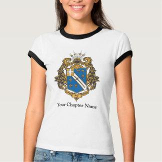 ファイのオメガアルファ色-頂上 Tシャツ