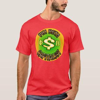 ファイのベータ資本家のワイシャツ Tシャツ