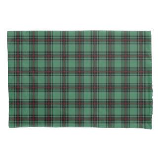 ファイフのスコットランド地区のタータンチェックの緑の格子縞 枕カバー