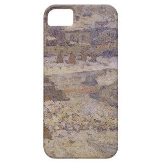 ファインアートの博物館の前の正方形 iPhone 5 Case-Mate ケース