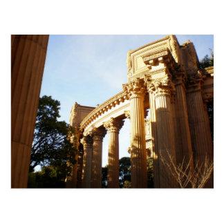 ファインアートの宮殿のコラム ポストカード