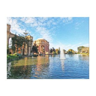 ファインアートカリフォルニアの宮殿 キャンバスプリント