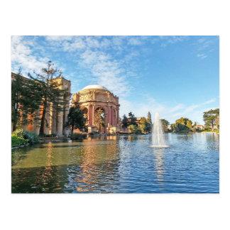 ファインアートカリフォルニアの宮殿 葉書き