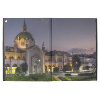 """ファインアート、サラエボ、ボスニアおよびHerzegoのアカデミー iPad Pro 12.9"""" ケース"""