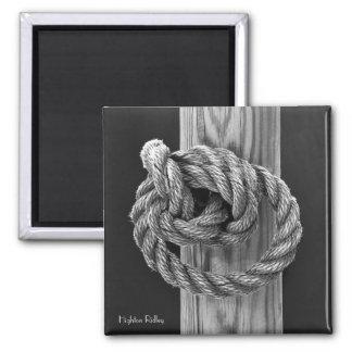 ファインアート、ロープの結び目 マグネット