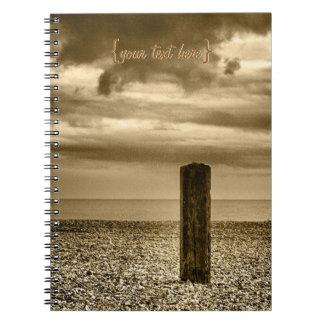 ファインアート-私は時間があります ノートブック
