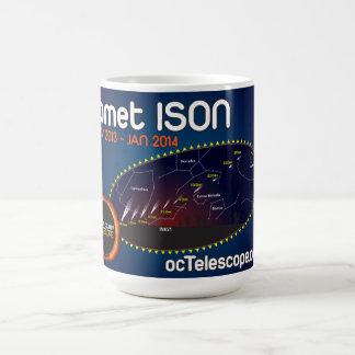 ファインダーの図表が付いている公式の彗星ISONのマグ コーヒーマグカップ