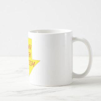 ファシズムと コーヒーマグカップ