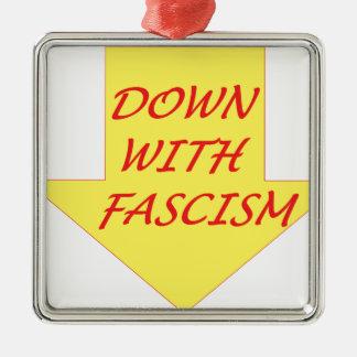 ファシズムと メタルオーナメント