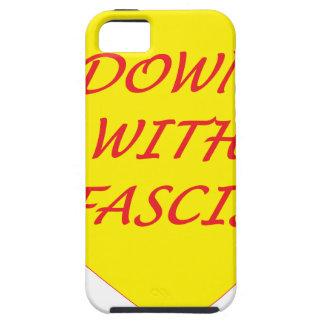 ファシズムと iPhone SE/5/5s ケース