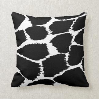 ファッションのアニマルプリントのモノラル白黒枕 クッション