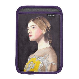 ファッションのイラストレーションのデザインのvalentinoの服 iPad miniスリーブ