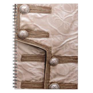 ファッションのオートクチュールの花型女性歌手-付属品 ノートブック