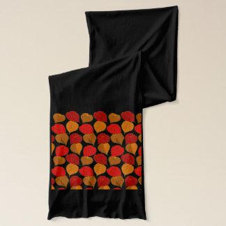 ファッションのスカーフの紅葉 スカーフ