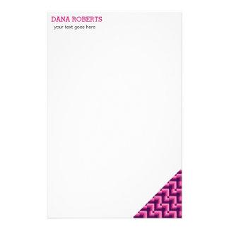 ファッションのスタイルのデザインのミニマリストのピンク 便箋