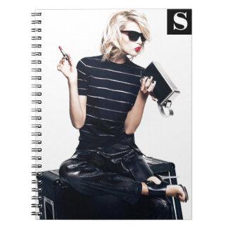 ファッションのノート ノートブック