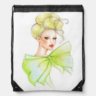 ファッションの女の子のバックパックのバッグ ナップサック