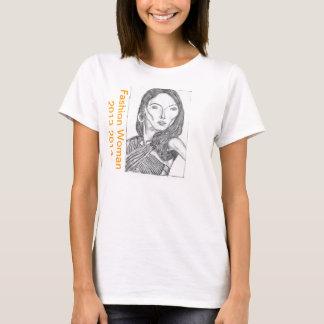 ファッションの女性のHanes ComfortSoft®のTシャツ Tシャツ