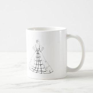 ファッションの絵のマグ-インスピレーションの引用文 コーヒーマグカップ