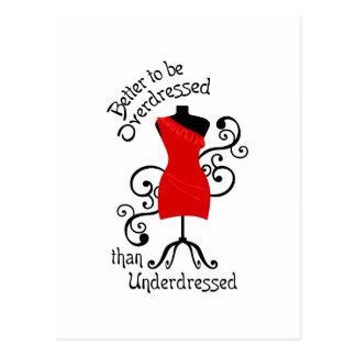 ファッションの規則 ポストカード