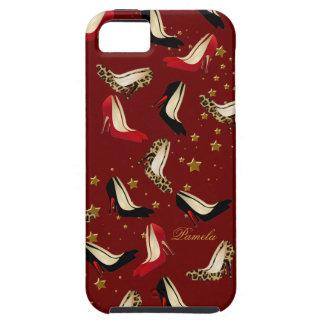ファッションの靴の猟犬のiPhone 5の場合 iPhone SE/5/5s ケース
