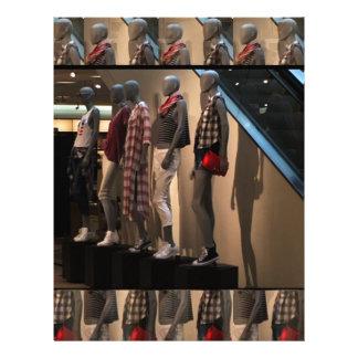 ファッションパレードはTシャツの衣類のテンプレートを模倣します レターヘッド