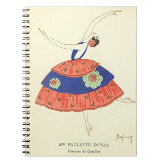 ファッションプレートの20年代 ノートブック