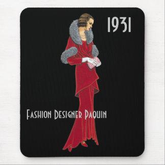 ファッション・デザイナーのマウスパッド マウスパッド
