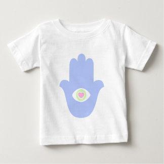 ファティマの目のハートHamsa ベビーTシャツ