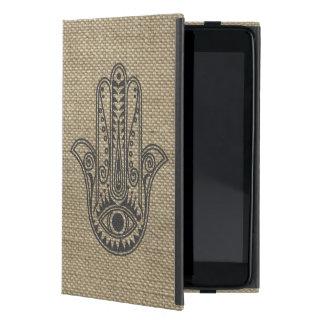 ファティマの記号のお守りのHAMSA手 iPad MINI ケース