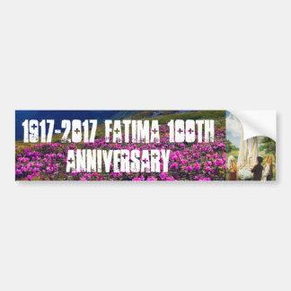 ファティマの100th記念日 バンパーステッカー