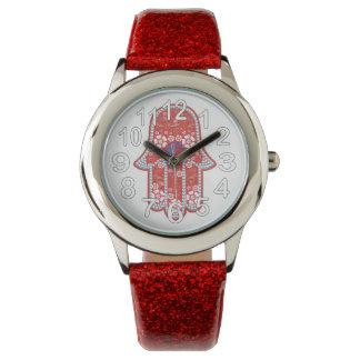 ファティマのhamsaの手 腕時計