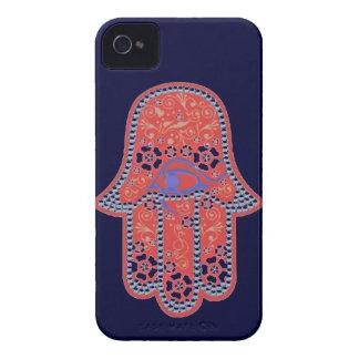 ファティマのhamsaのiphone 4のやっと場合の手 Case-Mate iPhone 4 ケース