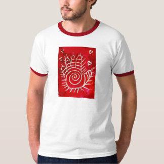 ファティマのHamsa/治療手/手 Tシャツ