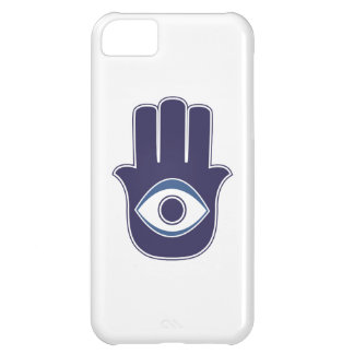 ファティマ/メリーお守り/運のHamsa/Khamsa手 iPhone5Cケース