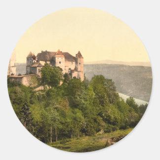ファドゥーツの城、リヒテンシュタイン ラウンドシール