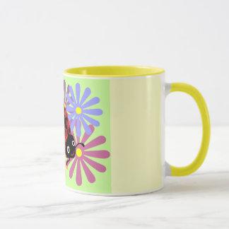 ファニーてんとう虫のマグ マグカップ