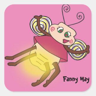 ファニーはホタルよろしいです スクエアシール