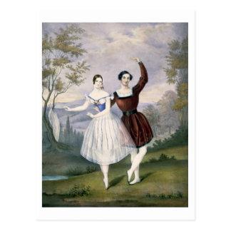 ファニーCerrito (1817-1909年)およびSigr。 のGuerra、 ポストカード
