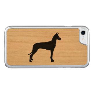 ファラオの猟犬のシルエット CARVED iPhone 8/7 ケース