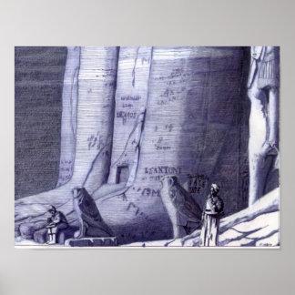 ファラオの足-ポスター ポスター
