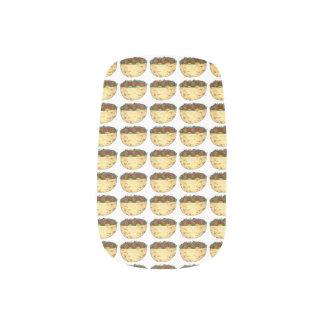 ファラフェルのピタサンドイッチ食糧グルメのプリントのネイルのデカール ネイルシール