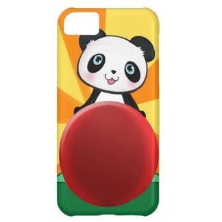 ファンの女の子のために現在のかわいく予測できないパンダくまのギフト iPhone5Cケース