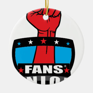 ファンの連合プロダクト(ロゴ1) セラミックオーナメント