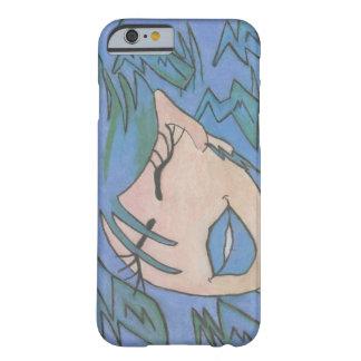 ファンキーでガーリーなiPhone 6'やっとそこに」青の場合 Barely There iPhone 6 ケース