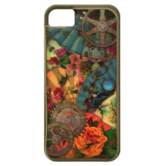 ファンキーでビクトリアンな黄銅 iPhone SE/5/5s ケース