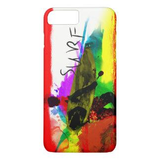ファンキーで多彩な熱帯Iphone 7のプラスの場合 iPhone 8 Plus/7 Plusケース