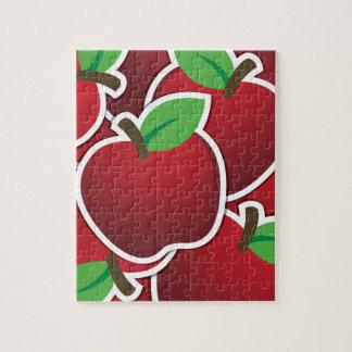ファンキーで赤いりんご ジグソーパズル
